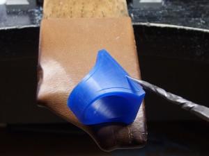 シルバーアクセサリーの作りからリングワックス11