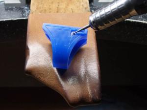 シルバーアクセサリーの作りからリングワックス12