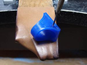 シルバーアクセサリーの作りからリングワックス14