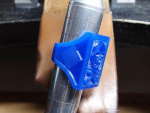 シルバーアクセサリーの作りからリングワックス16