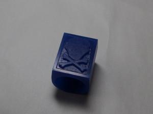 シルバーアクセサリーの作りからリングワックス6