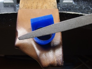 シルバーアクセサリーの作りからリングワックス9