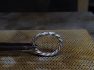 シルバーアクセサリーの作り方リングの製作方法彫金7
