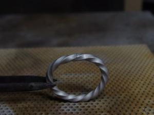 シルバーアクセサリーの作り方リングの製作方法彫金8